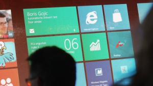 Windows 8 auf der Cebit