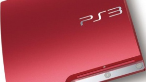 Playstation 3 in Scarlet Red