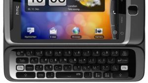 Das Desire Z/G2 hat noch eine aufschiebbare Tastatur, künftige Smartphones von HTC aber nicht mehr.