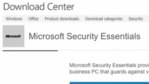 Microsoft: Security Essentials 4 ist fertig
