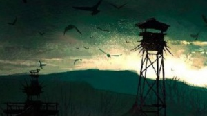 Konzeptgrafik aus Shinji Mikamis Survival-Horror-Spiel Zwei
