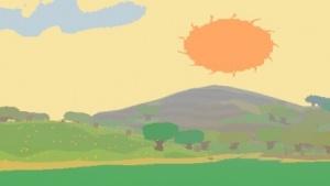 Sonnenschein im Indie-Spiel Proteus