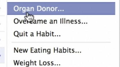 Lebensretter: Facebook fordert Mitglieder zur Organspende auf