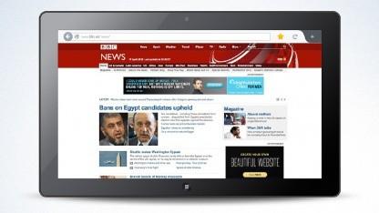 Designentwurf von Firefox für das Metro-UI von Windows 8
