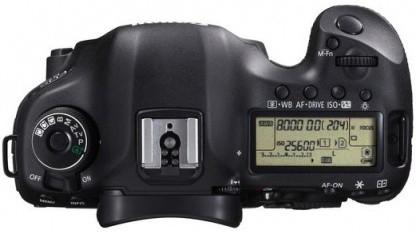 Canon EOS 5D Mark III: Klebeband überlebt auch Wasserschäden.