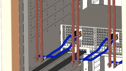 Open Rack mit 12V-Stromschienen