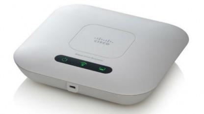 Der WAP321 kann entweder auf dem 5- oder 2,4-GHz-Band funken.