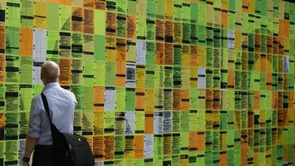 Die Twitter-Wand auf der Re:publica 2012