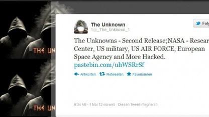 Die Gruppe The Unknowns will Hackerethik nicht vollständig in Anspruch nehmen.