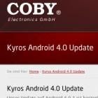 Ice Cream Sandwich: Android-4-Update für Cobys Kyros-Tablets ist da
