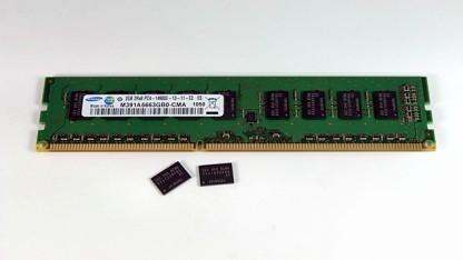 DDR4-Prototyp, hier noch von Samsung