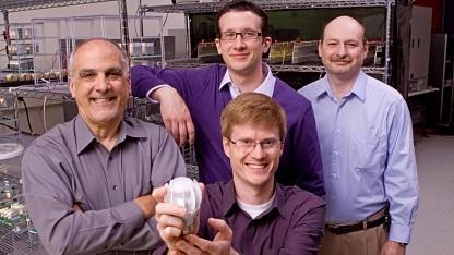 Das Entwicklerteam der 27-Watt-LED