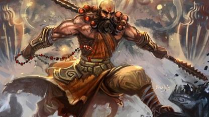 """Artwork """"Mönch"""" aus Diablo 3"""