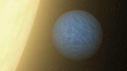 55 Cancri e: 1.700 Grad auf der Tagseite