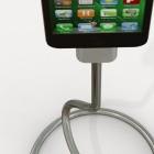 Kickstarter: Schwanenhals-USB-Kabel soll iPhone balancieren