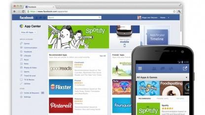 Facebooks App Center steht kurz vor dem Start.