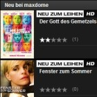 Video on demand: Maxdome bald auf PS3 und Sony-TVs