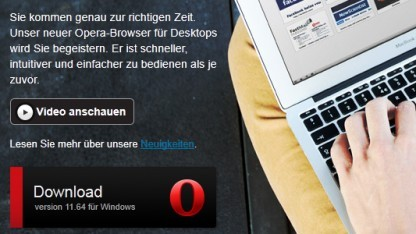 Opera 11.64 ist da.