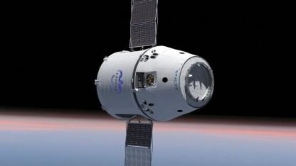 Versorgungsflüge zu aufblasbarer Raumstation: SpaceX-Raumkapsel Dragon