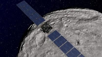 Sonde Dawn über Asteroid Vesta: Fossil aus der Frühzeit des Sonnensystems
