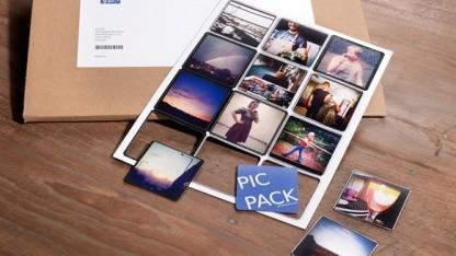 Picpack druckt Instagram-Fotos auf Magnete.
