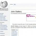 Wikipedia: Werbebanner deuten auf Infektion durch Schadsoftware hin