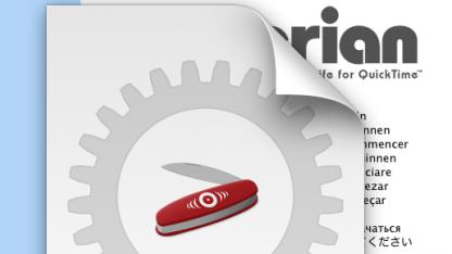 Codec-Projekt Perian für Mac wird eingestellt.