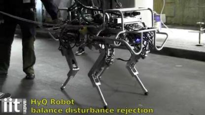 HYQ: robotischer Vierbeiner mit Open-Source-Framework