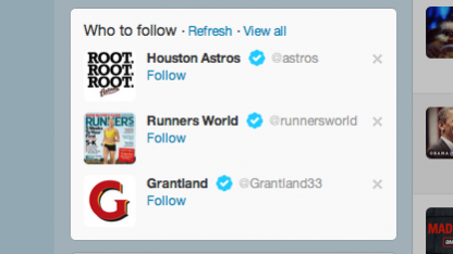 Twitter gibt künftig Empfehlungen auf Basis des Surfverhaltens.