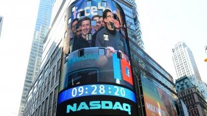 Börsengang: Facebook-Aktie steigt sofort um elf Prozent