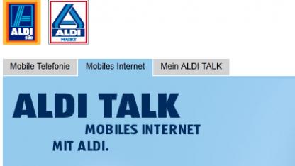 Neue mobile Datenflatrates bei Aldi Talk