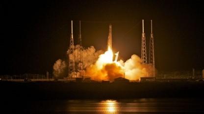 Start der Falcon 9 mit der Dragon an Bord: Andocken an die ISS am Freitag?