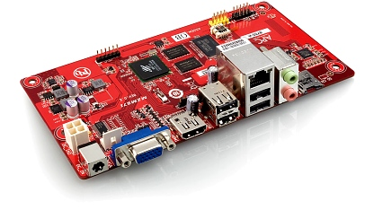 Das APC-Mainboard im Format Neo-ITX