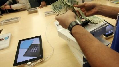 Apple dominiert den Tabletmarkt.