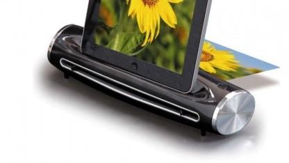 iPad-Scan - Reflectas Scanererweiterung für das iPad