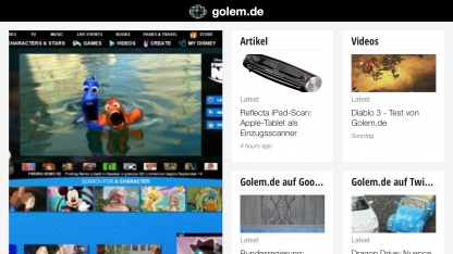 Golem.de unterstützt Google Currents.