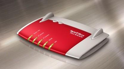 Die Fritzbox Fon WLAN 7390 von AVM