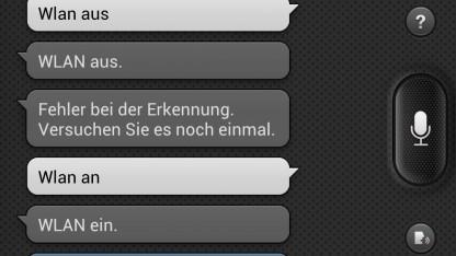 Die Spracherkennung S Voice in Samsungs Galaxy S3 hat noch reichlich Macken.