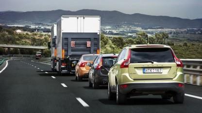 Erstaunte Autofahrer: Sartre-Test bei Barcelona