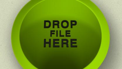 Datei per Drag-and-Drop übertragen