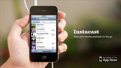Instacast darf nur ohne Flattr in den App Store.