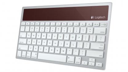 Logitechs Wireless Solar Keyboard K760 ist ab Juli 2012 erhältlich.