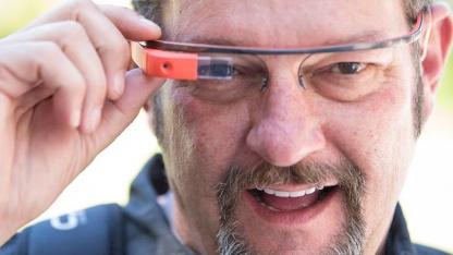 Barry Blanchard mit der Google-Brille