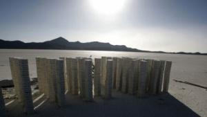 Knapper Rohstoff: Abbau von lithiumhaltigem Salz in Bolivien