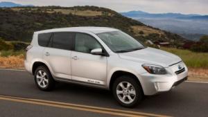 Toyota RAV4 EV: Normal- und  Sportmodus