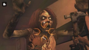 Eine Zombieattacke in The Walking Dead