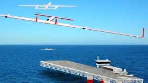Fliegender Wechsel: Ölplattformen als Ladestation für Akkudrohnen