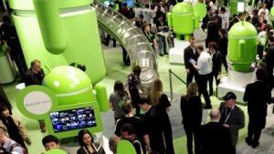 Android kommt in Deutschland auf 42 Prozent.