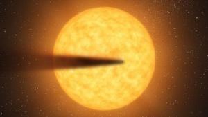 Exoplanet mit Schweif: Blick wie durch den Smog von Los Angeles