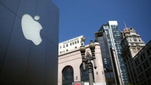 Auch Apples eigene Ladengeschäfte helfen, den Markenwert zu steigern.